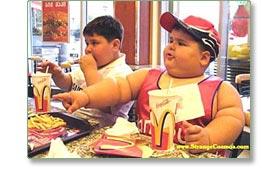Enfant obèse