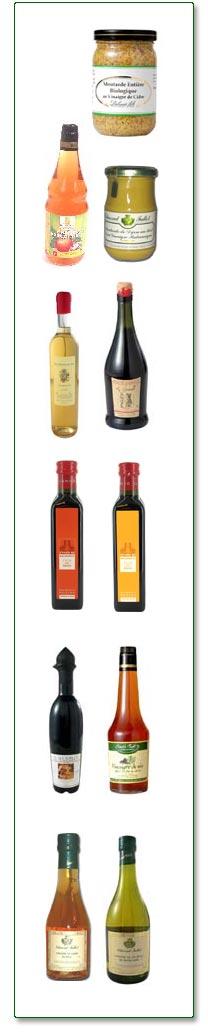 Produits à base de vinaigre de cidre